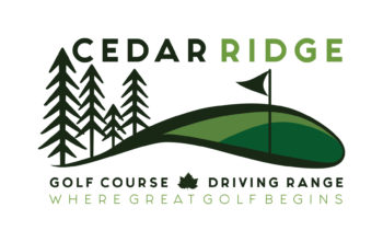 Cedar Ridge Golf Course and Driving Range Logo